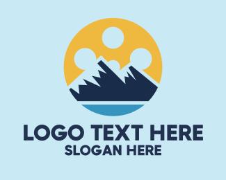 Documentary - Entertainment Mountain Film logo design