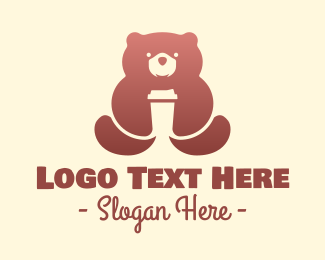 Brown Bear - Brown Bear Coffee logo design