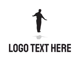 Drift - Levitate Man logo design