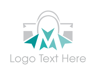Shopping Bag - Click Bag logo design