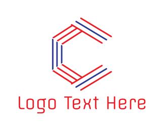 Stripe - Stripe Hexa C logo design
