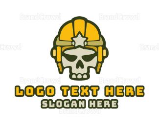 """""""Skull Star Helmet """" by town"""