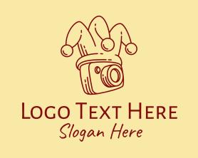 Camera - Photography Camera Jester logo design