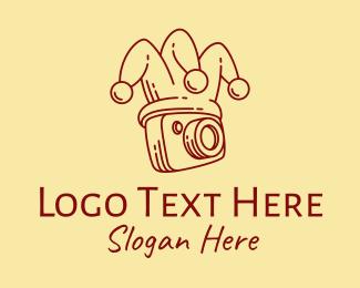 Camera Repair - Photography Camera Jester logo design