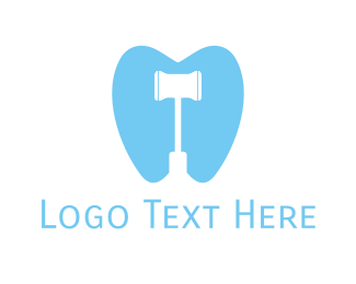 Hammer - Dental Hammer logo design