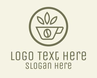 Leaves - Coffee Bean Leaves logo design