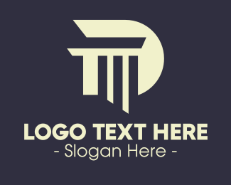 Law School - Law School Letter D logo design