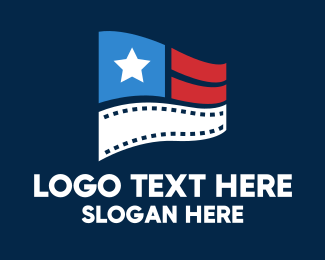 Entertainment - Entertainment Film Flag  logo design