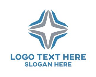 Logistics - Silver Star logo design