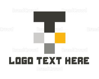"""""""Tech Letter T"""" by designabot"""