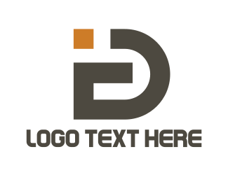 Identification - I & D logo design