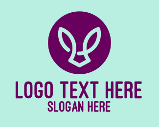 Rabbit - Abstract Rabbit logo design