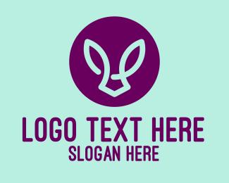 Brand - Abstract Rabbit logo design