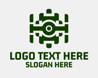 Technology - Webcam Camera Tech logo design