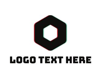 Easy - Block Glass logo design
