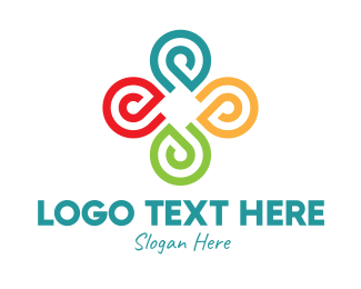 Non Profit Organization - Colorful Community Organization logo design