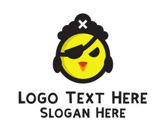 Pirate Chicken Logo