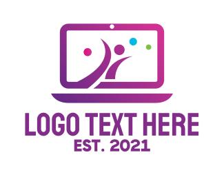 Class - Online Fitness Class  logo design