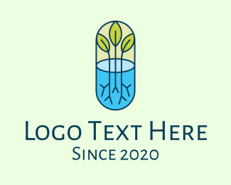 Environmentalist - Herbal Medicinal Plant logo design