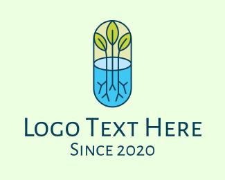 Medicine - Herbal Medicinal Plant logo design