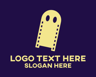Ghost - Ghost Horror Film  logo design