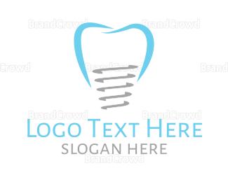 Dentist - Molar Implant logo design