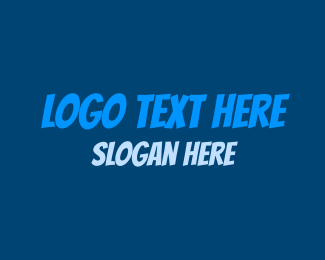 Cartoonish - Comic Blue logo design