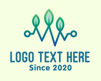 Life - Environmental Life Pulse logo design