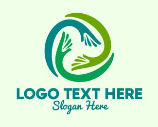 Circle Hands Community  Logo
