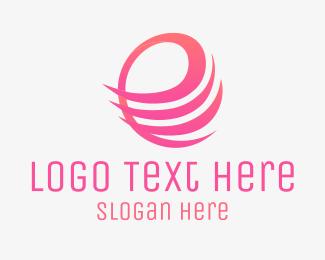 Stripes - E Stripes logo design