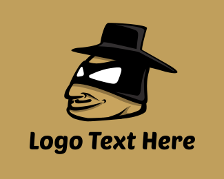 Tapas - Zorro Cartoon logo design