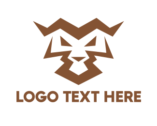 Hobby - Angry Tiger Abstract  logo design