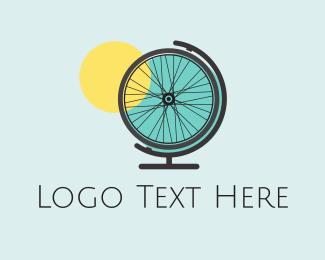 Bicycle - Bike World logo design