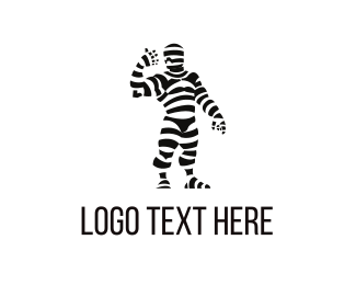 Costume - Mummy Costume logo design