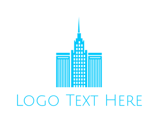 Tower - Blue Towers logo design