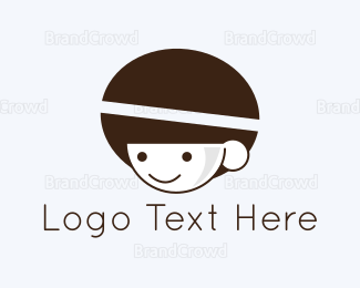 Boy - Coffee Boy logo design