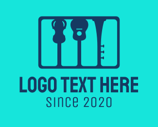 Music - Music School logo design