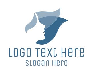 Soap - Blue Face logo design