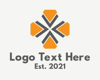 Icon - Geometric Flower Icon logo design
