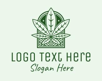 Cannabis - Cannabis Marijuana Weed logo design