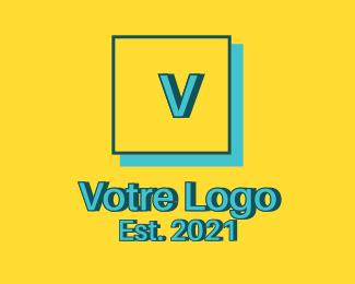 Construction Square Construction Letter logo design