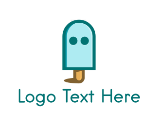 Ghost - Ghost Popsicle logo design
