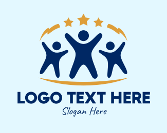 Children - Star Children  logo design