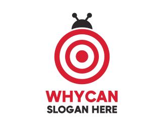 Bug Target Bug  logo design