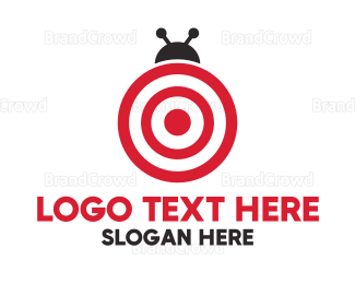 Target - Target Bug  logo design