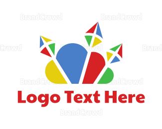 Storage - Colorful Cloud Kite logo design