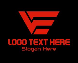 Technology - Technology V & E Monogram logo design