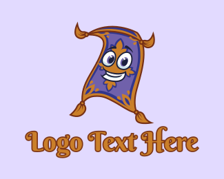 Genie - Arabian Magic Carpet  logo design