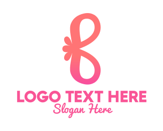 Feminine Wash - Stylish Flower Letter B logo design