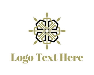 Golden - Royal Star logo design
